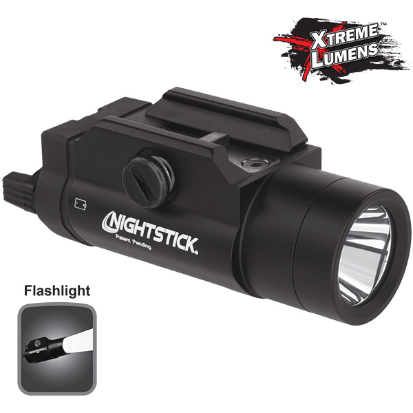 Xtreme Lumens™ Tactical Weapon-Mounted Light-Nightstick