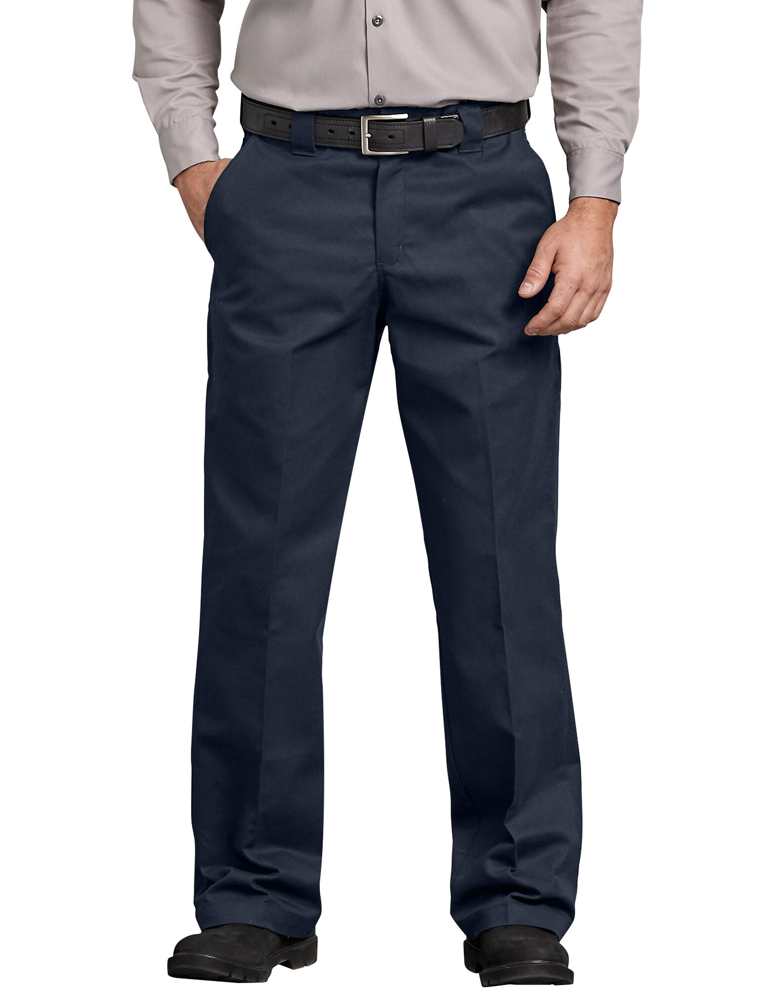 FLEX Relaxed Fit Straight Leg Twill Comfort Waist Pants-Dickies Canada