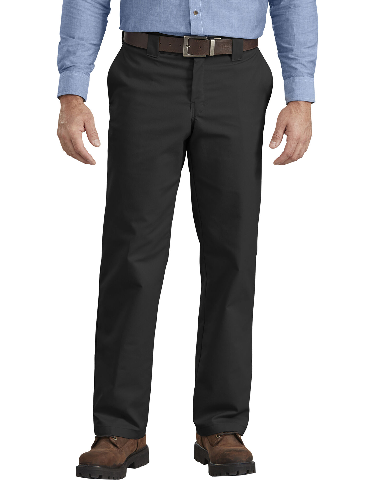 FLEX Regular Fit Straight Leg Twill Multi-Use Pocket Work Pants-Dickies Canada
