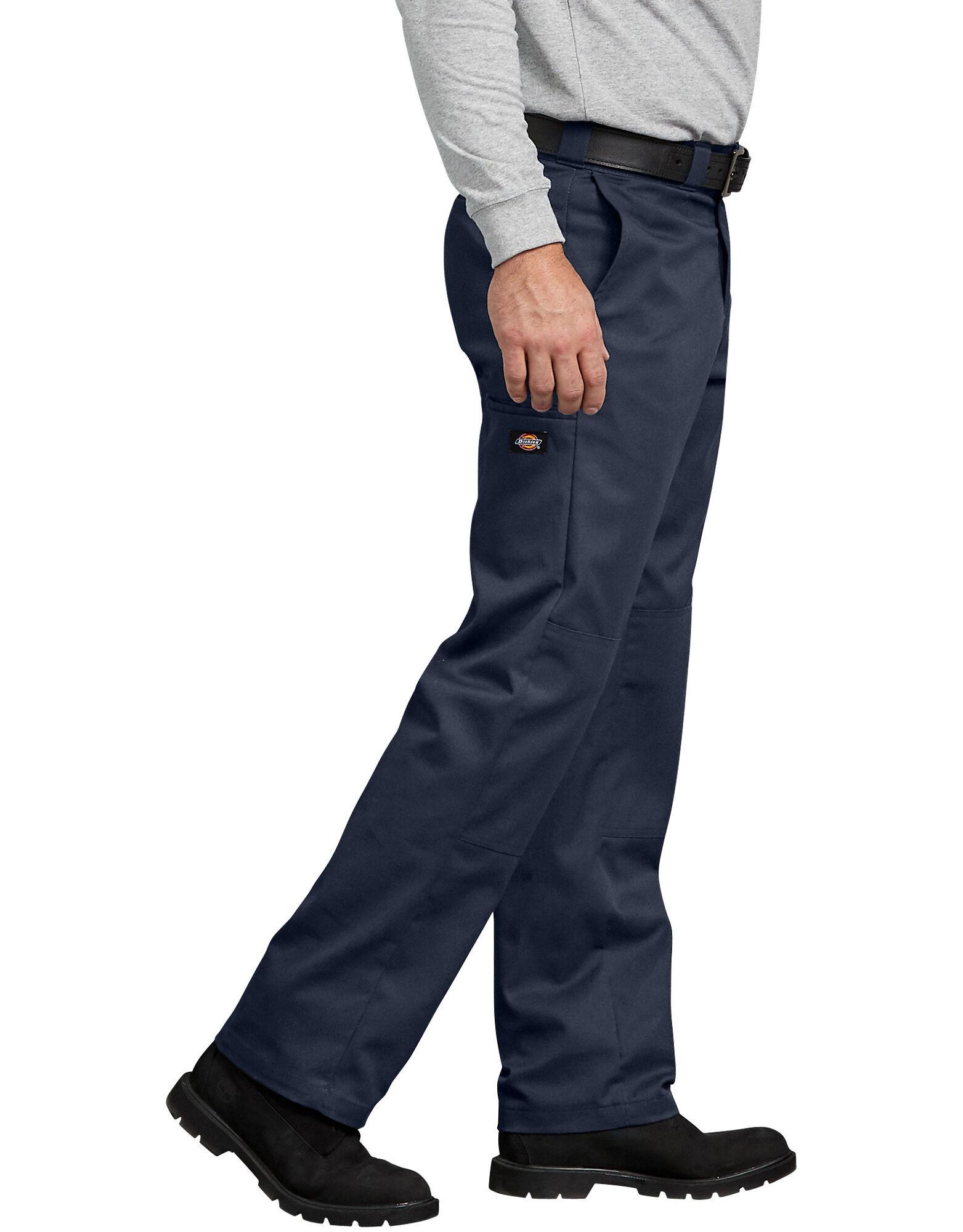 FLEX Regular Fit Straight Leg Double Knee Work Pants-Dickies Canada