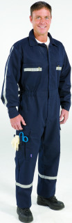 Over-The-Clothes Fit Uniform Suit - Long Sleeve-Topps Safety Apparel