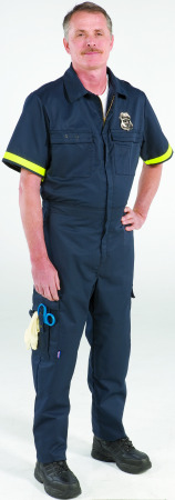 Metro Style One-Piece Uniform - Short Sleeve-Topps Safety Apparel