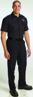 Nomex® Short Sleeve Hidden Snap-Front Shirt-Topps Safety Apparel