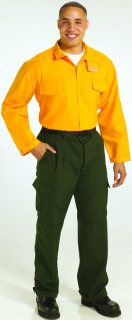 Nomex® Wildland Shirt - Long Sleeve-Topps Safety Apparel