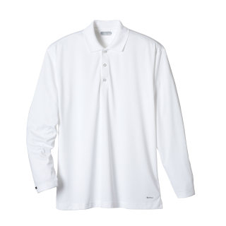 (M) BRECON Long sleeve polo-Trimark