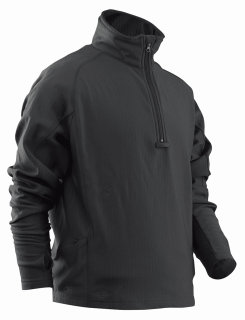 24-7 Series Zip Thru Grid Fleece Pullover-Tru-Spec