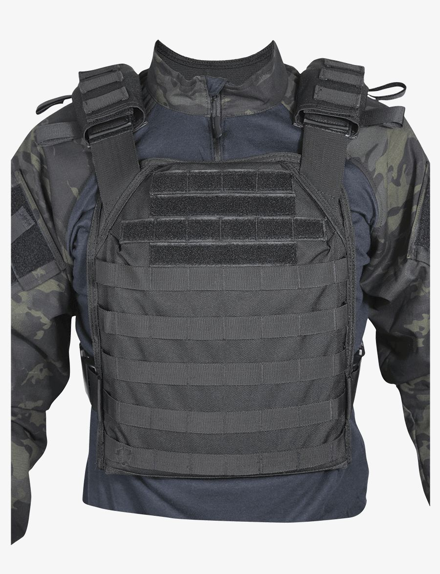 5ive Star Gear Black Lw2 Plate Carrier Vest-Tru-Spec