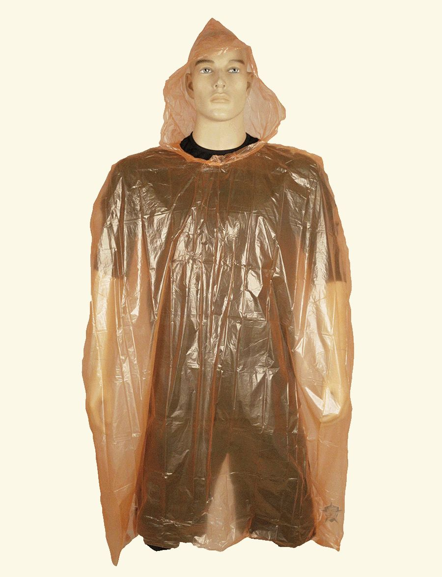 Poncho, Emergency Rain-