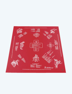 5ive Star Gear 1st Aid Red Survival Handkerchief-Tru-Spec