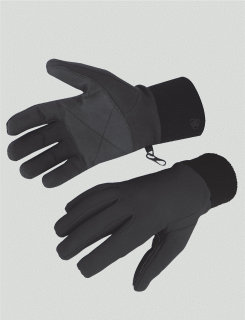 5ive Star Gear Black Performance Softshell Glove-Tru-Spec