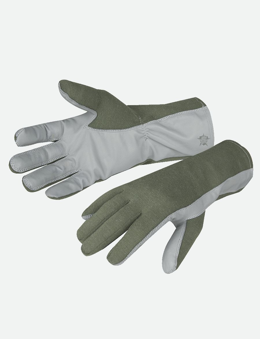 Nomex Flight Gloves-Tru-Spec