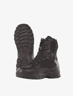"4059 Tactical Assault Boot 9"" Side Zip-"