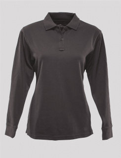 24-7 Series Ladies Long Sleeve Polo Shirt-