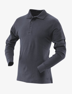 24-7 Series® Mens Long Sleeve Classic 100% Cotton Polo-Tru-Spec®