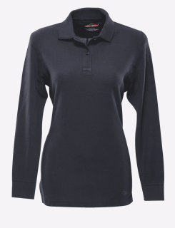 24-7 Series® Ladies Long Sleeve Classic 100% Cotton Polo-Tru-Spec®
