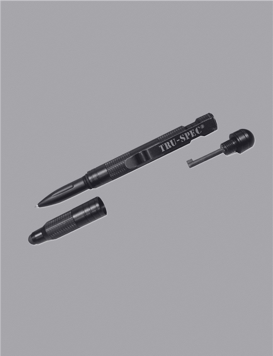 Pen, Tru-Spec Tactical, Blk-