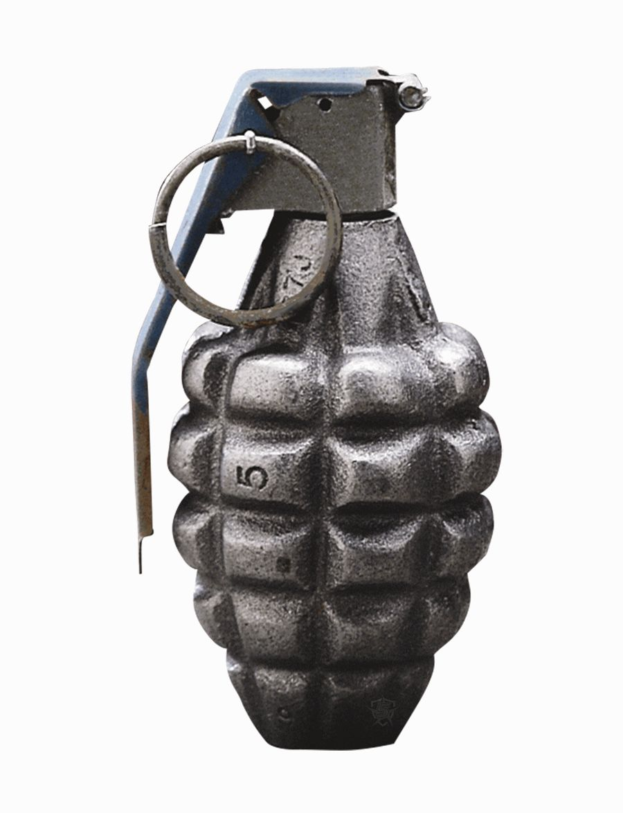 Pineapple Grenade Paperweight-
