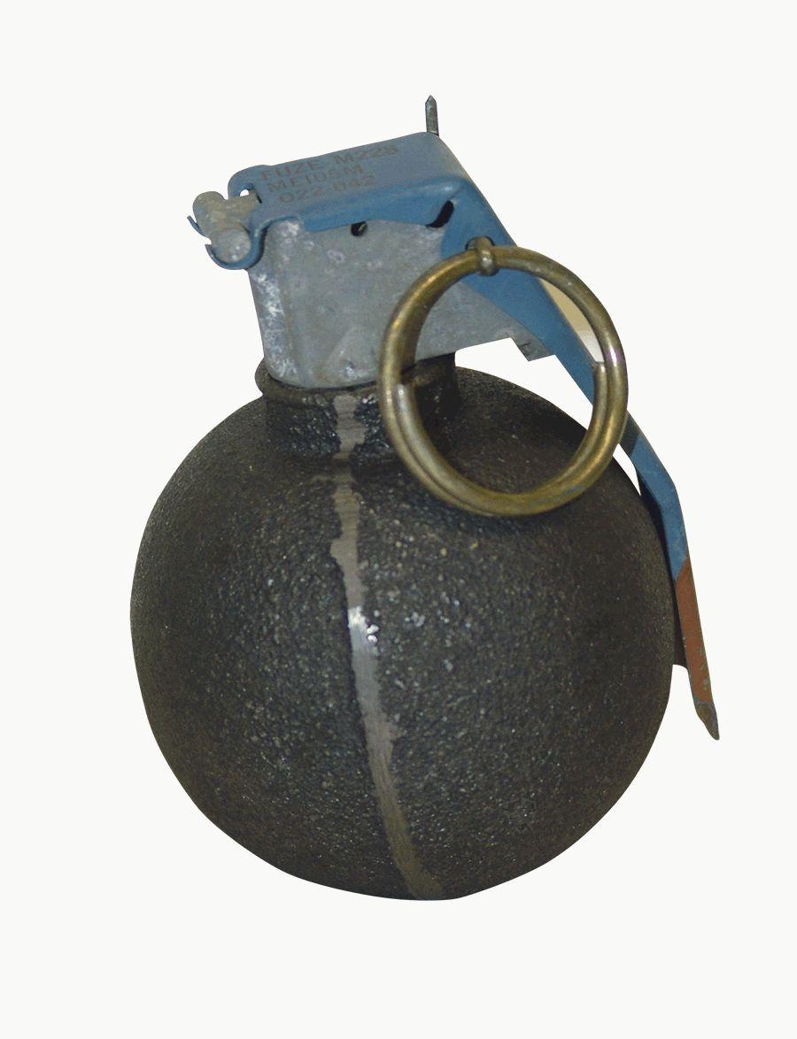 Baseball Grenade Paperweight-