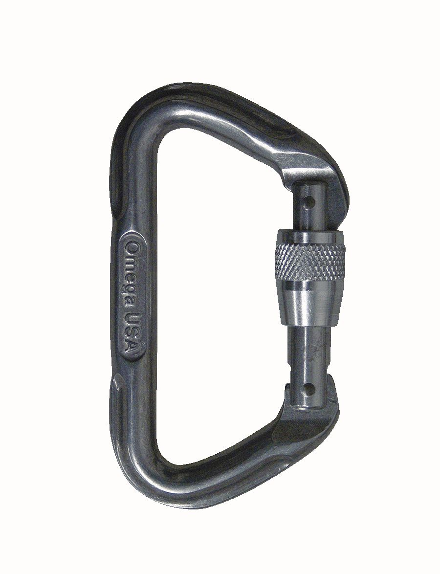 Omega Pacific 7000 Series Screwlok Carabiner-