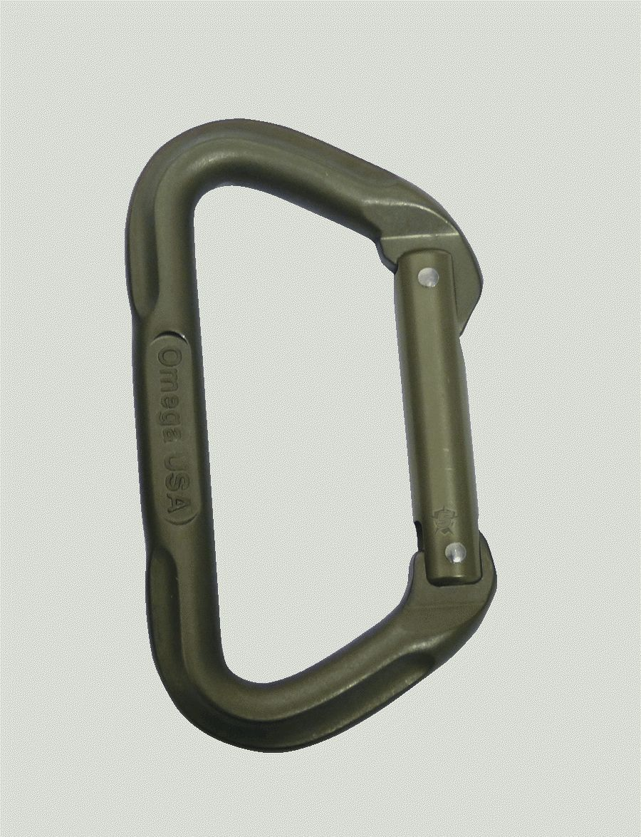 Omega Pacific 7000 Series Tactical D Carabiner-Tru-Spec