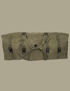 Olive Drab Green G.I. Spec 4-Strap Zipper Duffle Bag-