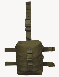 Dlg-5s Drop Leg Gas Mask Carrier-