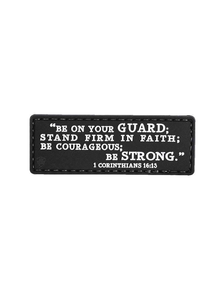 Morale Patch, 1 Corinthians 16:13-Tru-Spec