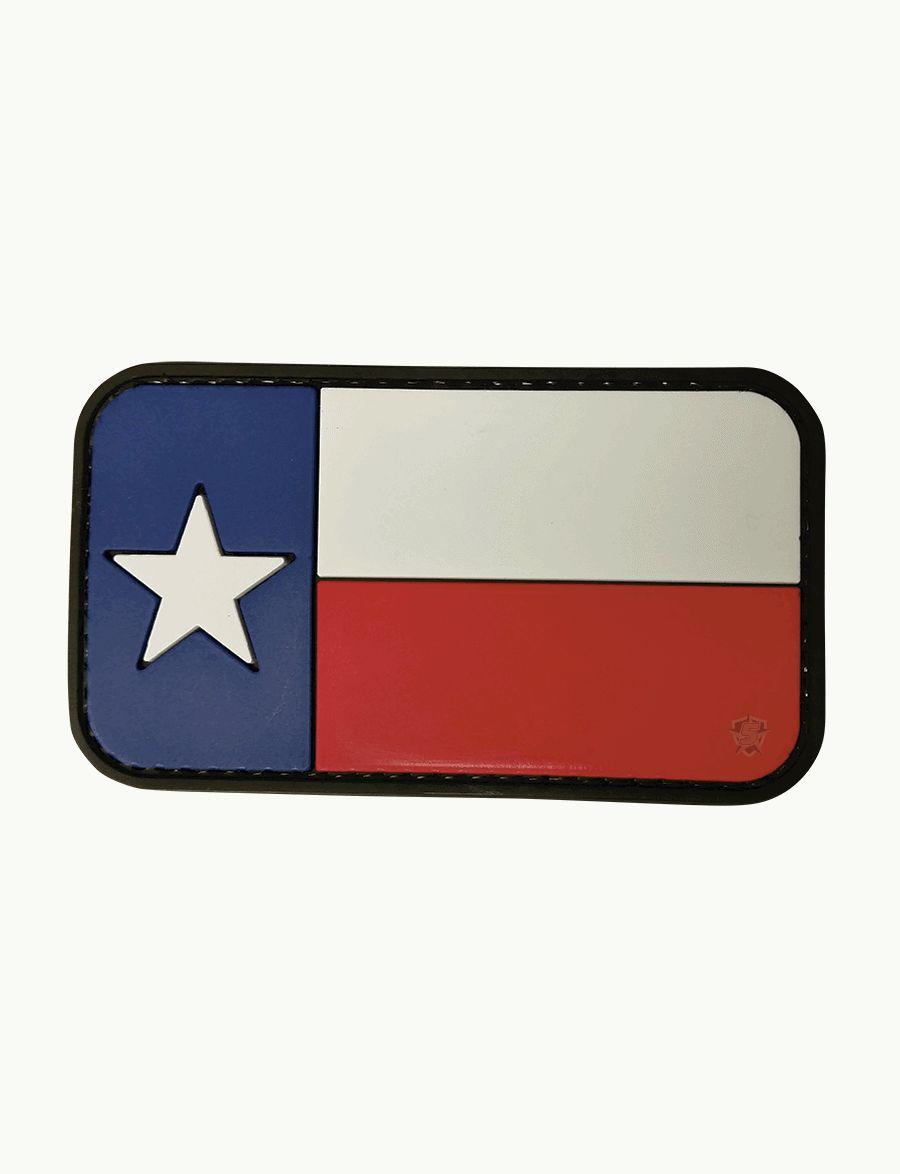 Pvc Morale Patch - Texas Flag-Tru-Spec