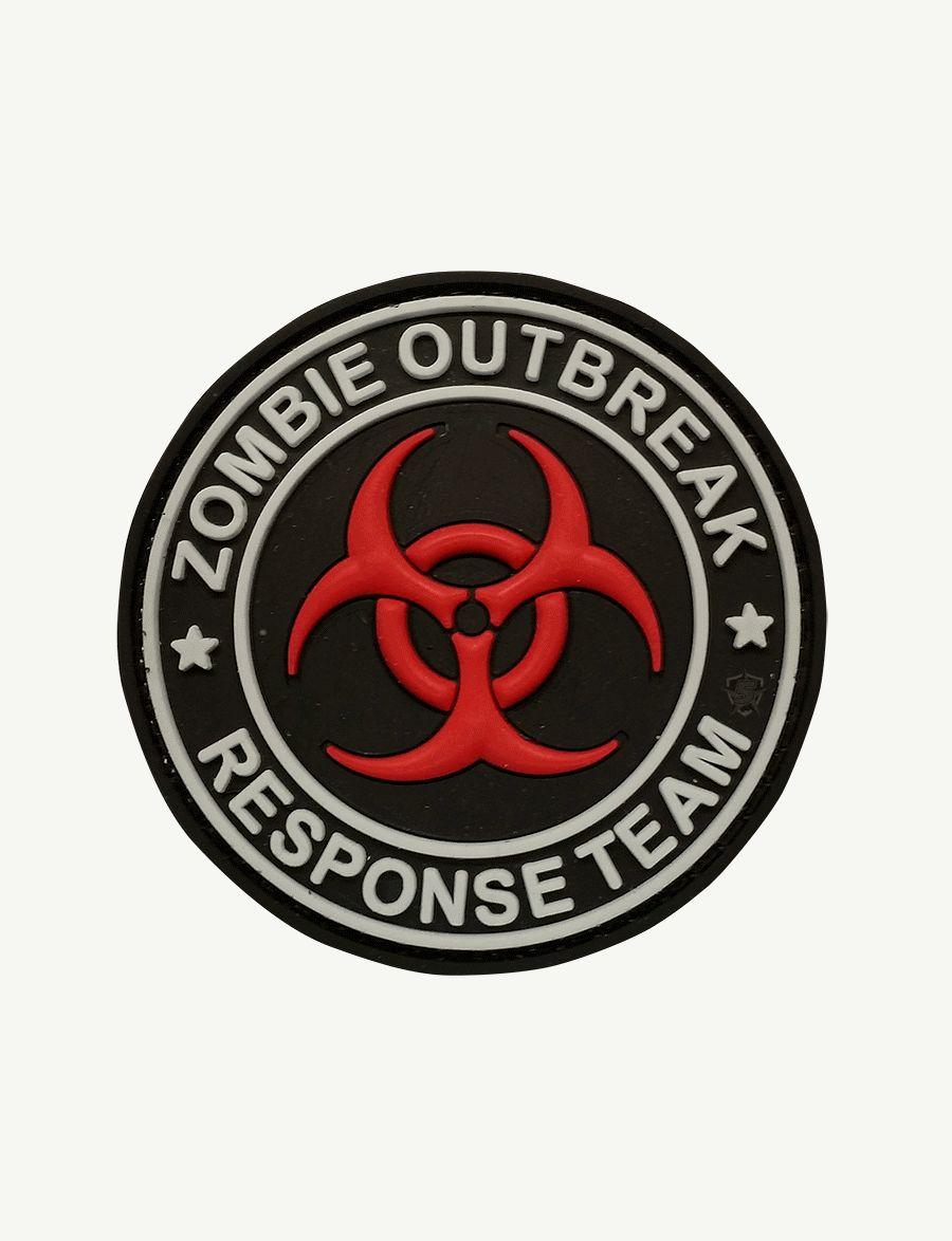 Pvc Morale Patch - Zombie Outbreak-