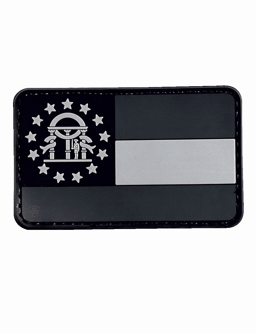Morale Patch, Subdued Ga Flag-