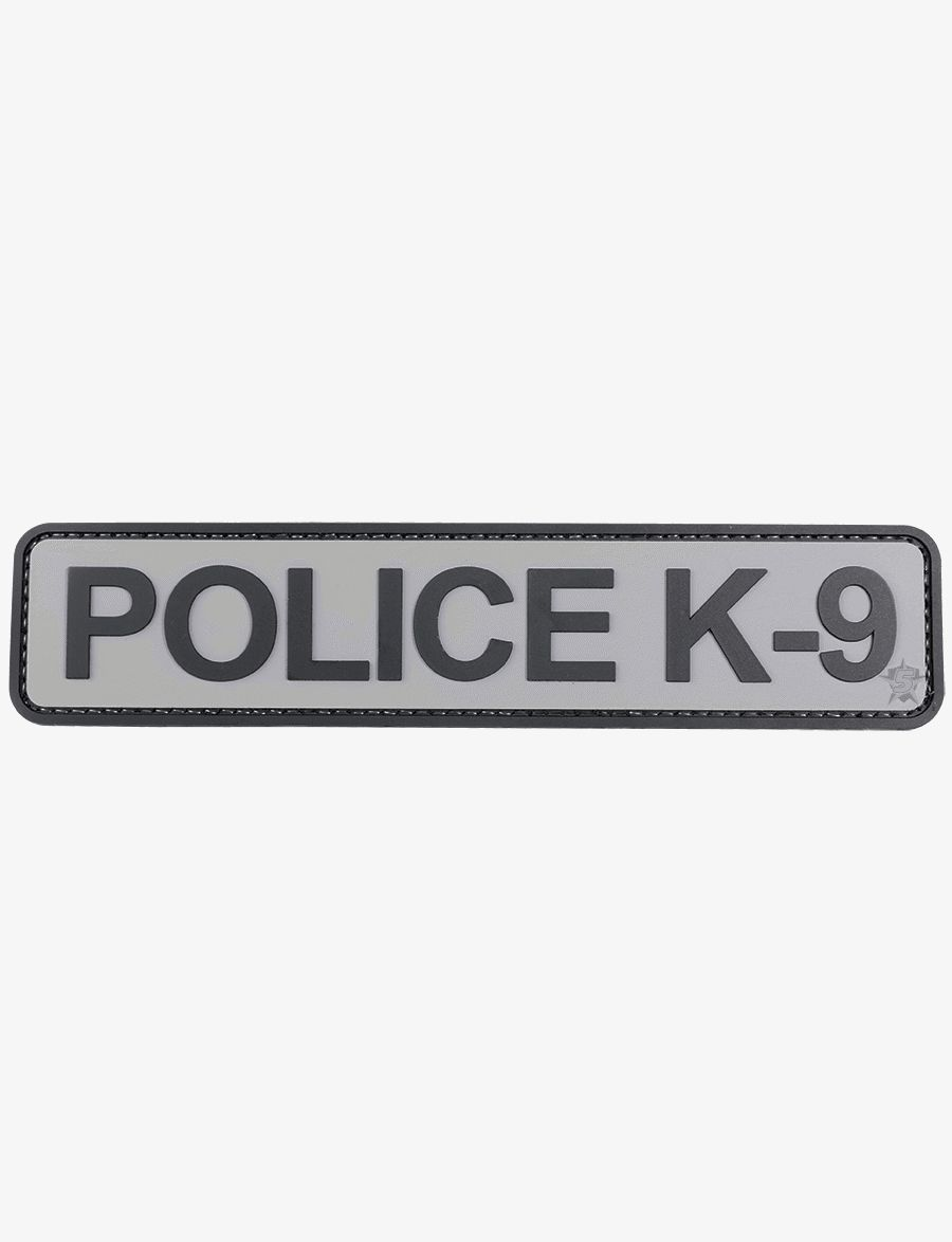 Police K-9 Morale Patch-Tru-Spec