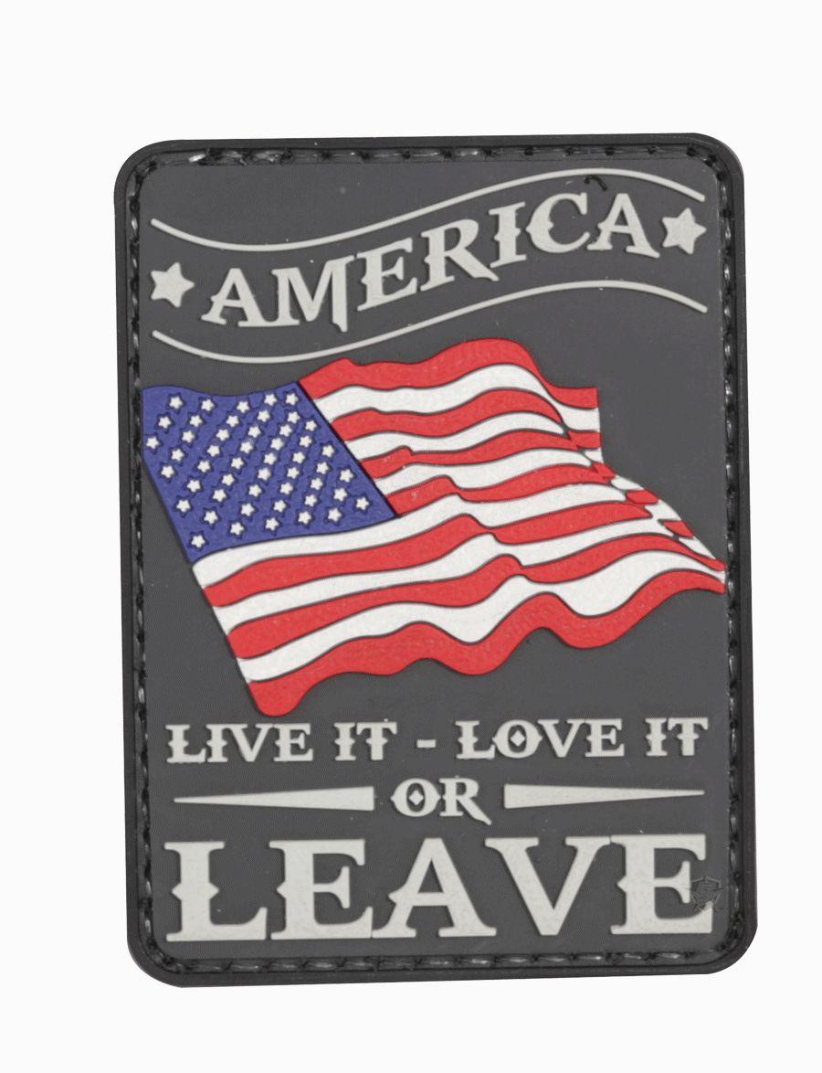 Morale Patch, America Live It-Tru-Spec