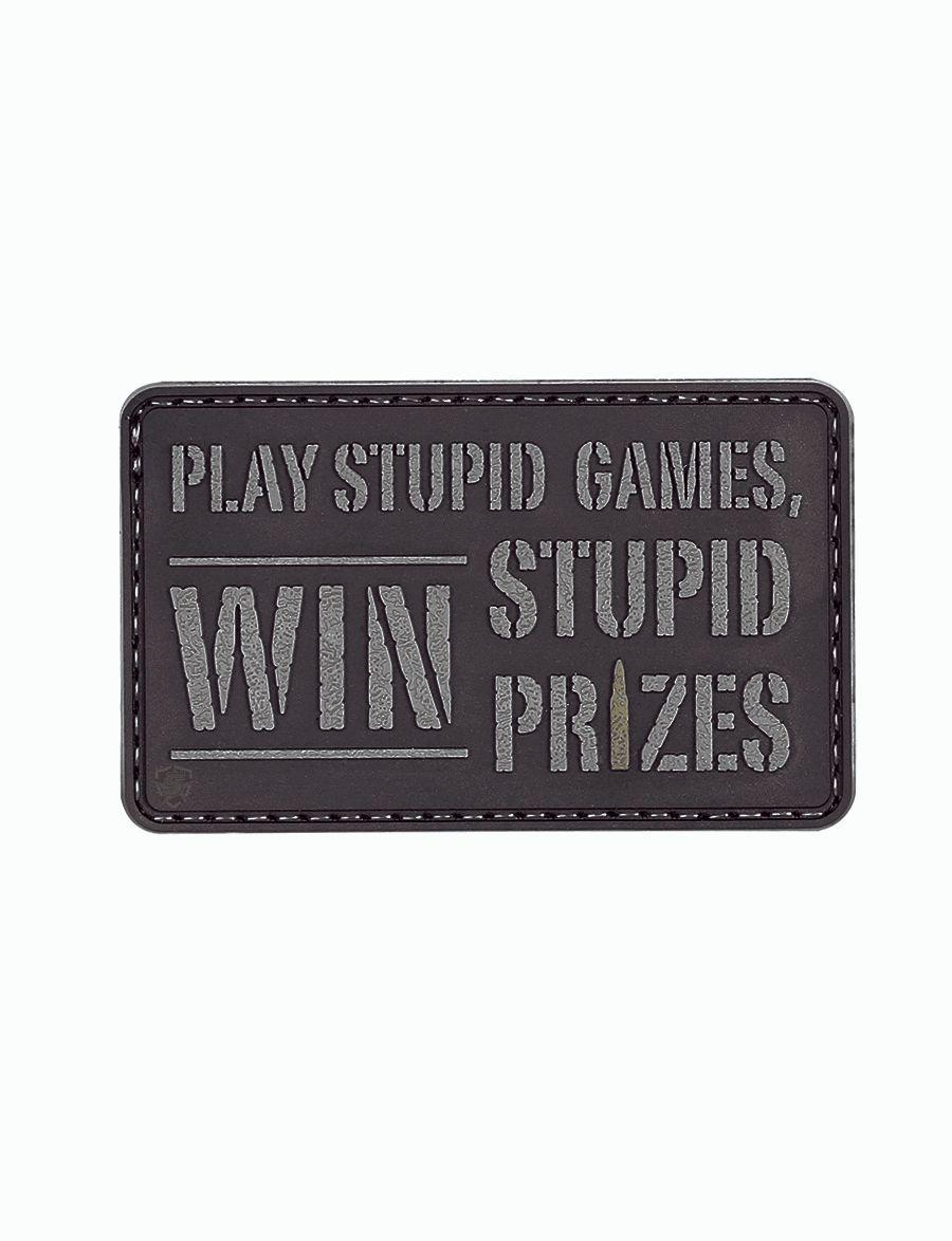 Morale Patch, Stupid Games-Tru-Spec
