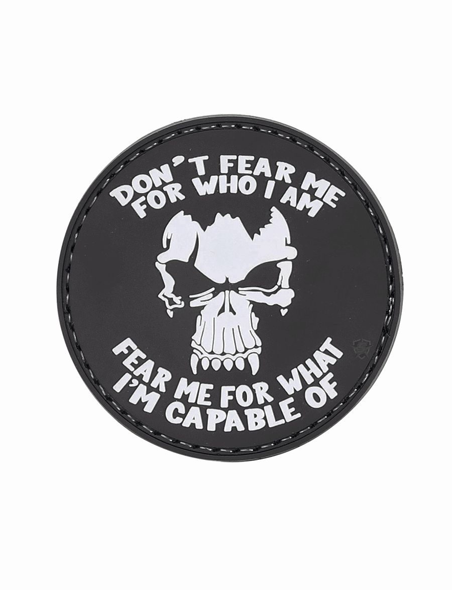Morale Patch, Don't Fear Me-Tru-Spec