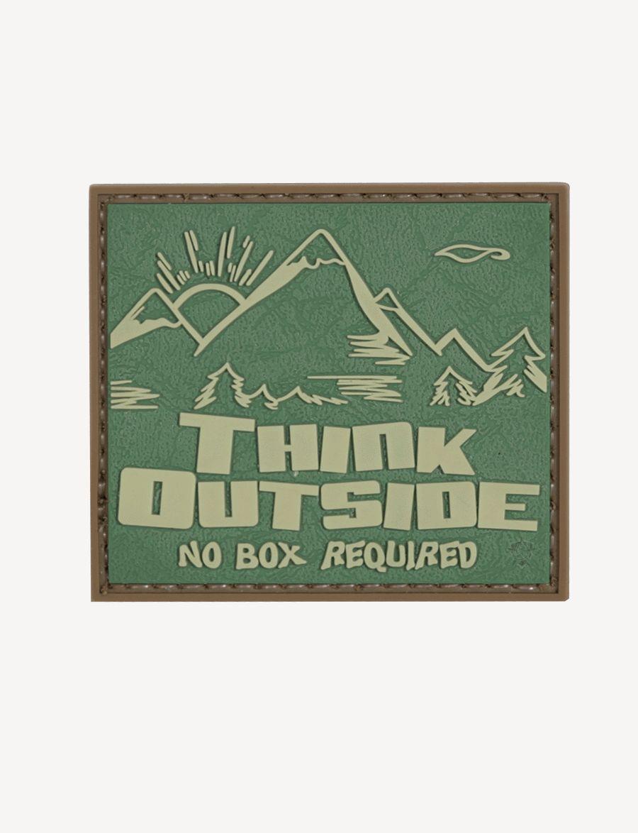 Morale Patch, Think Outside No Box-Tru-Spec