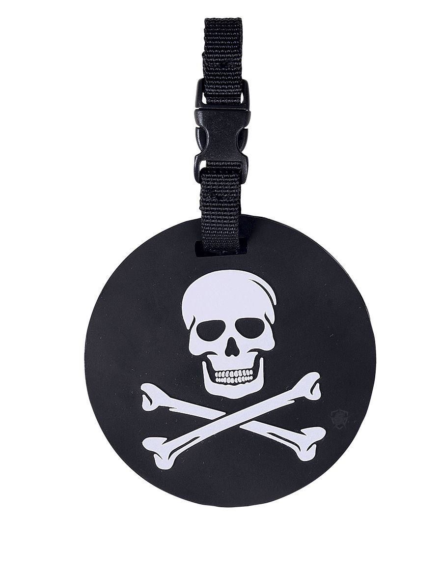 Jolly Roger Luggage Tag-