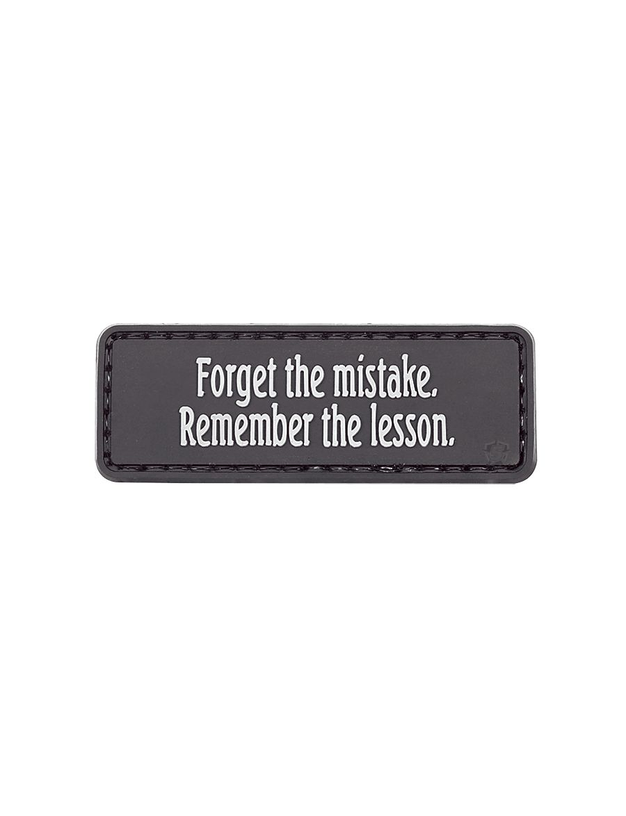 Morale Patch, Forget The Mistake-Tru-Spec
