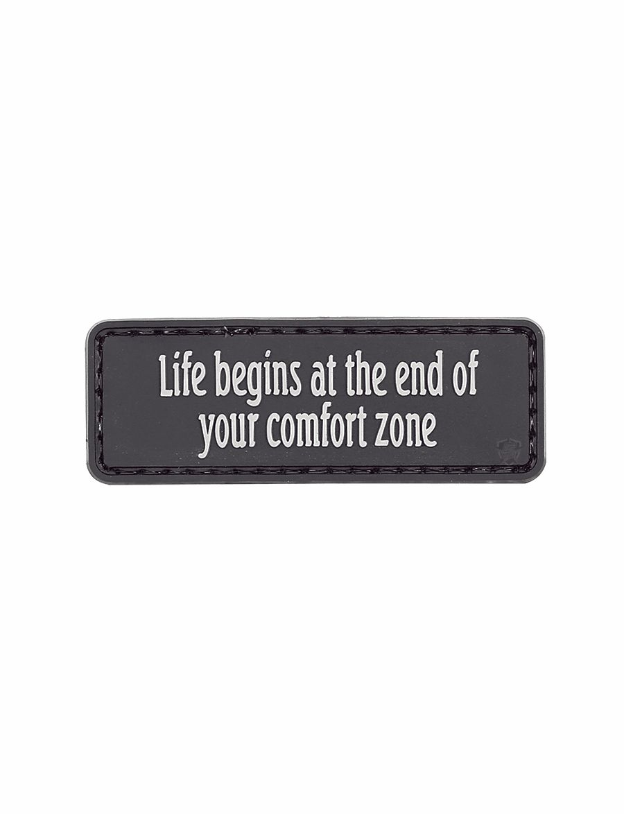 Morale Patch, Life Begins At The End-