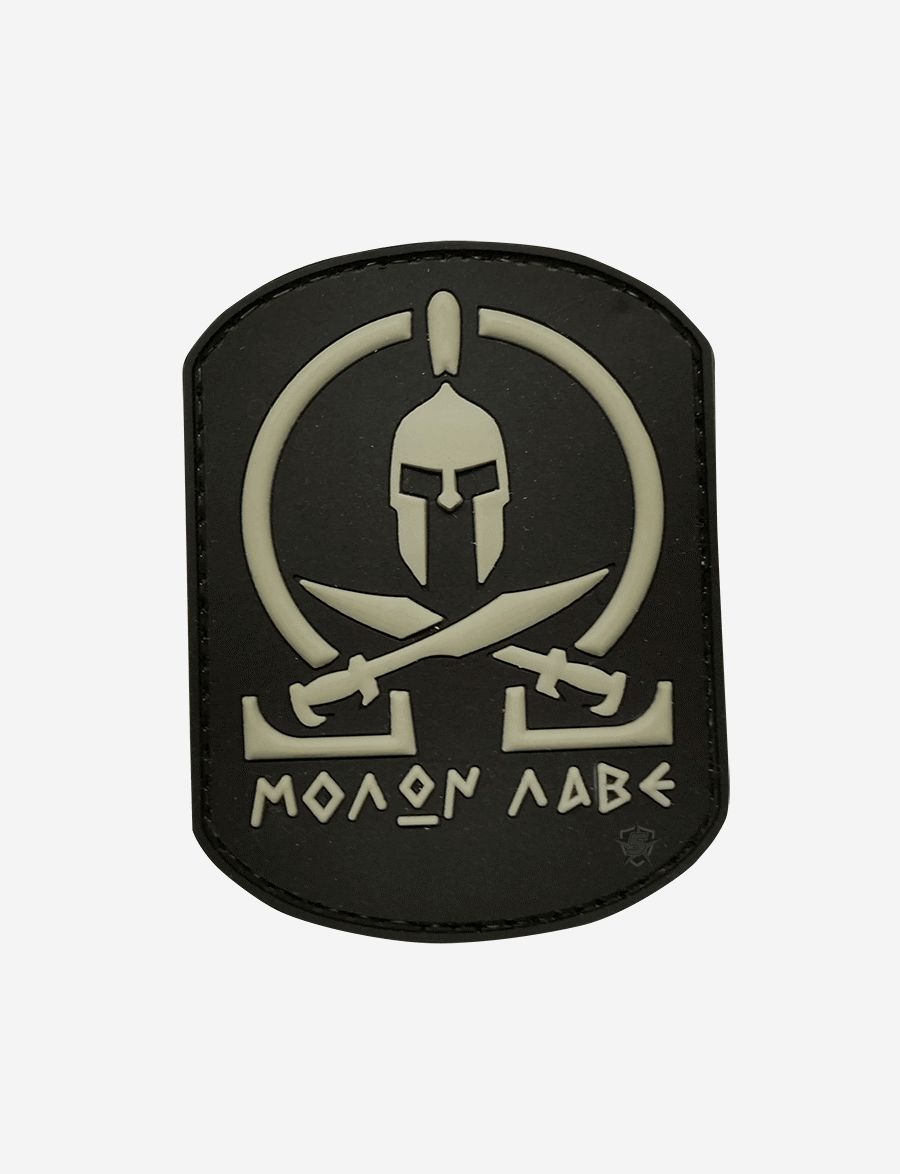 Pvc Morale Patch - Molon, Black-