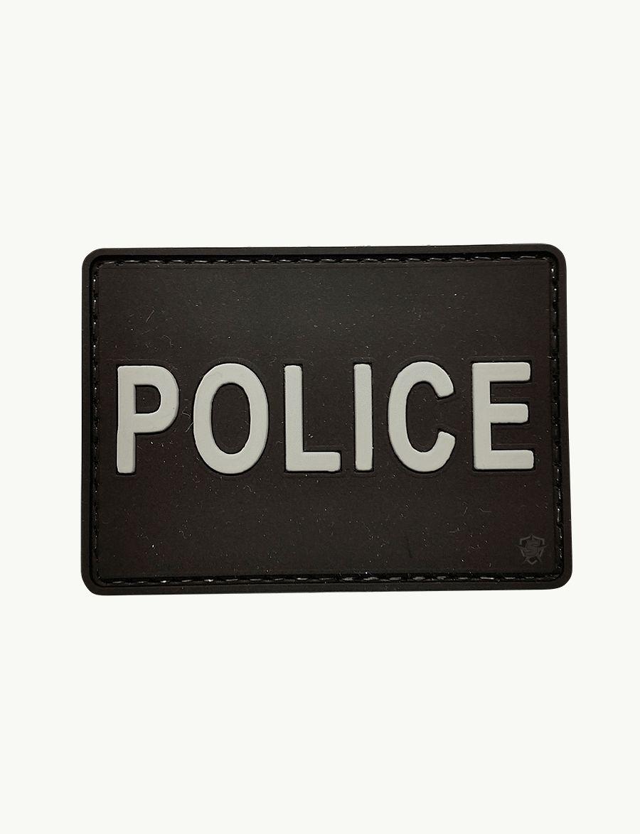 Pvc Morale Patch - Police-