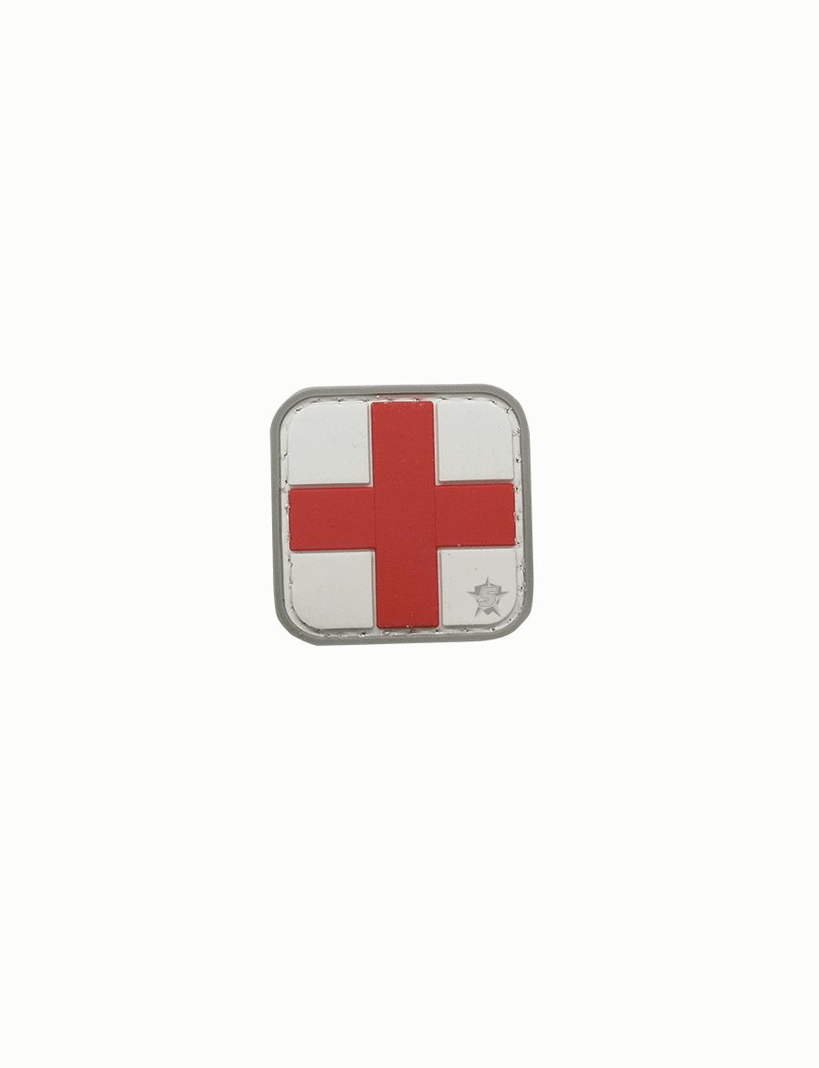 Pvc Morale Patch - Red Cross-Tru-Spec