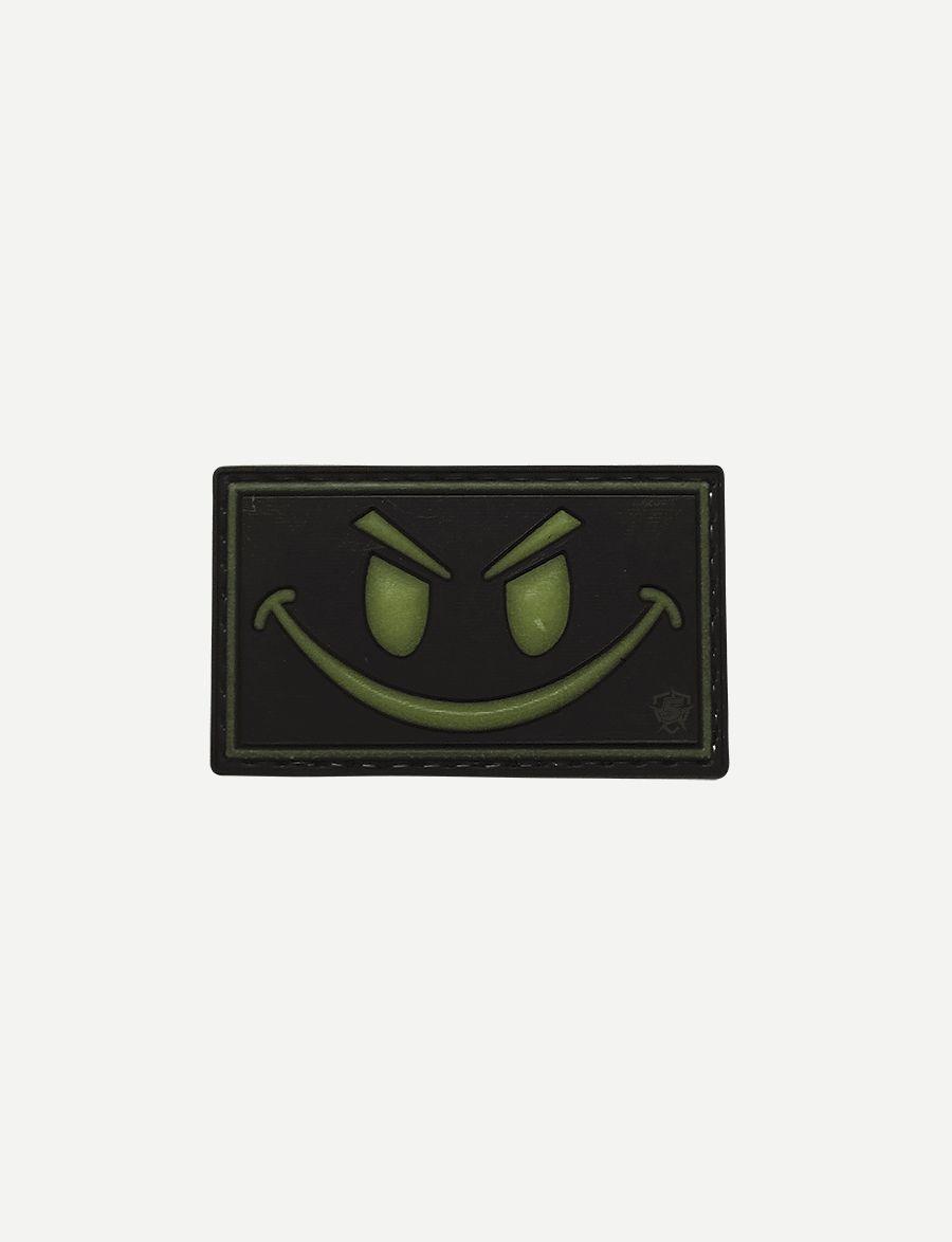 Pvc Morale Patch - Glow / Smile-