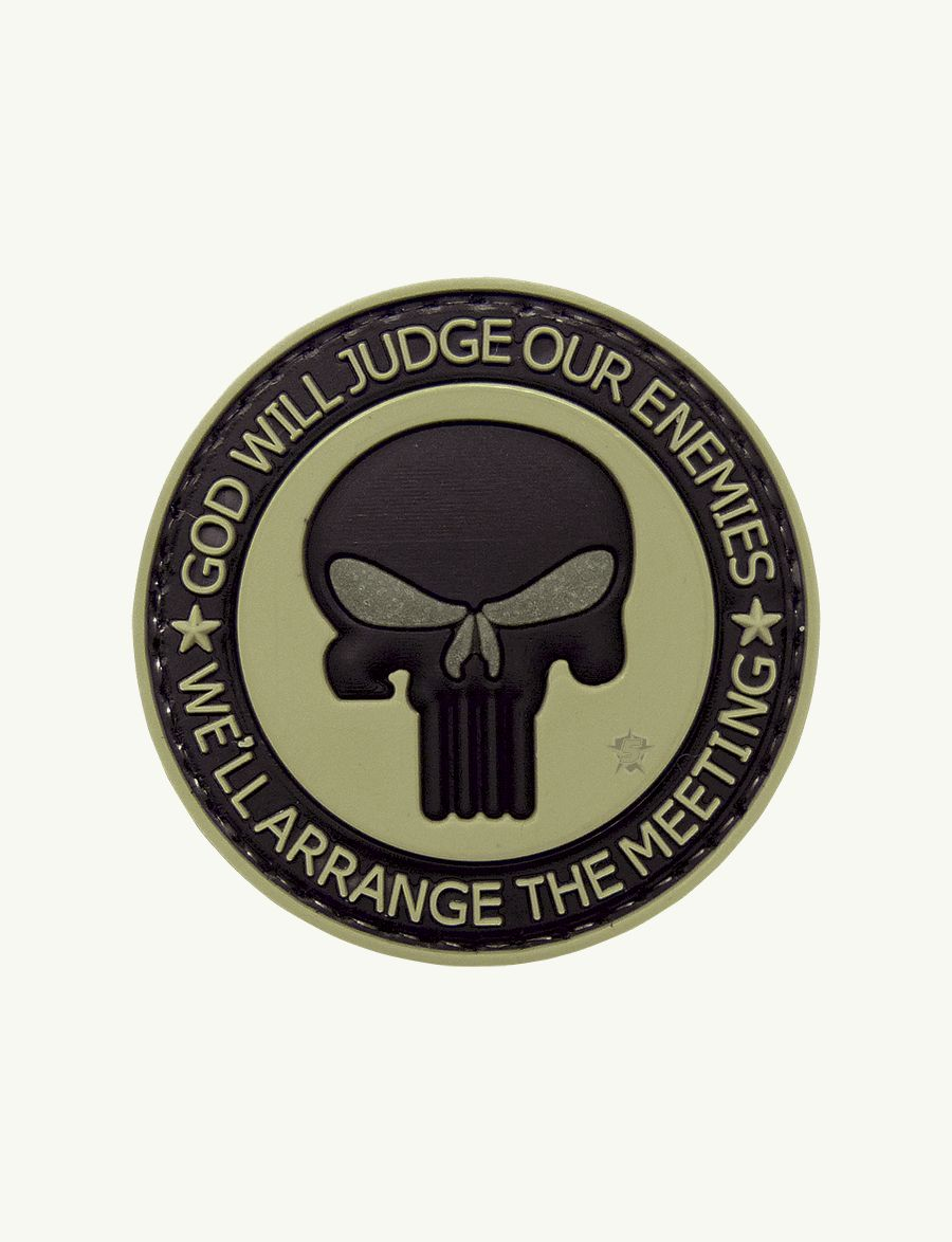 Morale Patch, Punisher Enemies-Tru-Spec