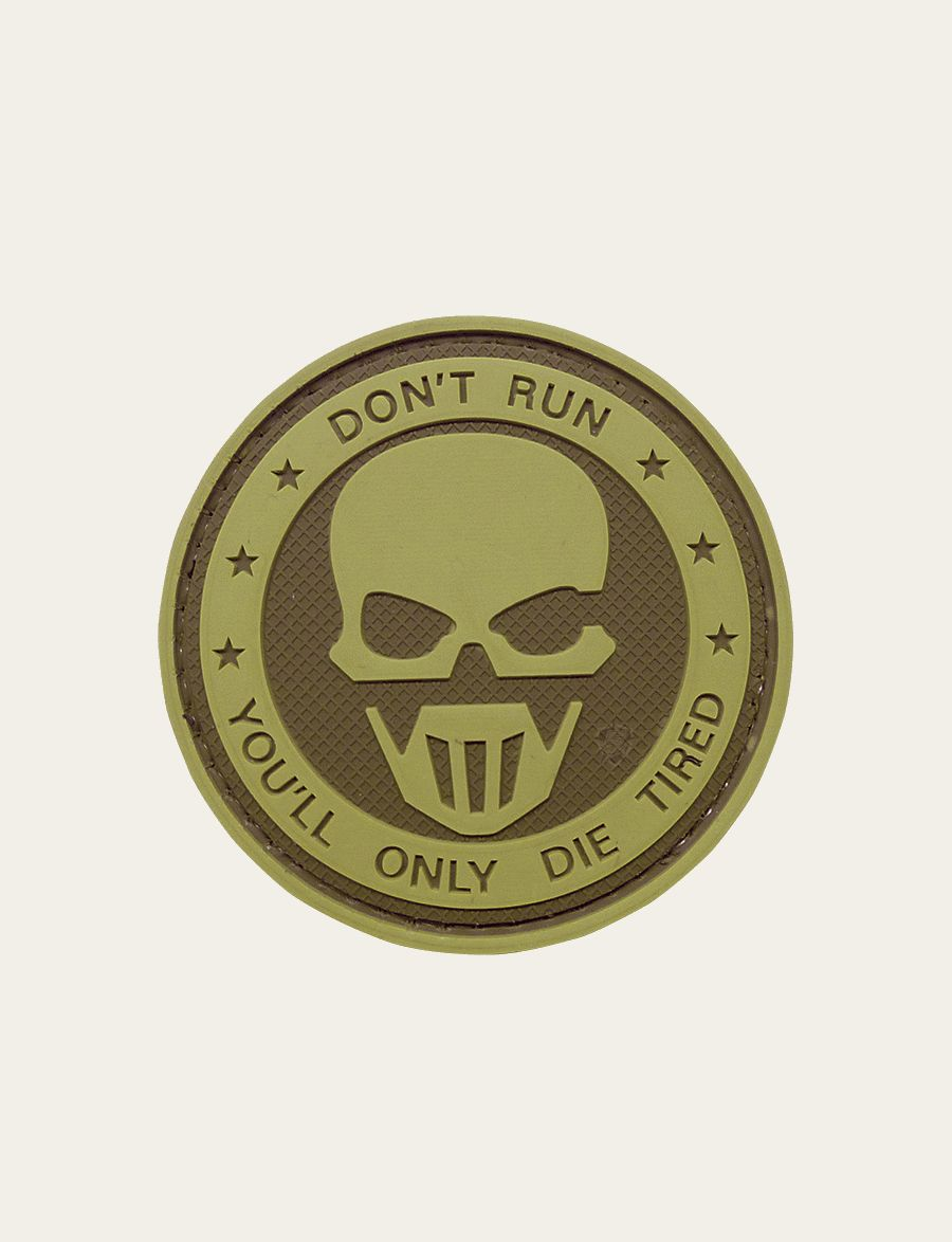 Morale Patch, Don'T Run - Ghost-