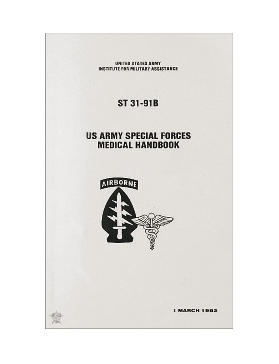 Special Forces Medical Manual-