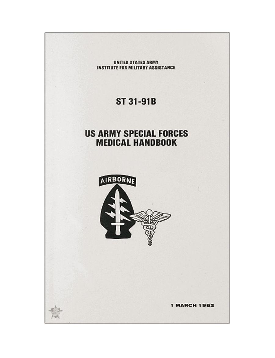 Special Forces Medical Manual-Tru-Spec