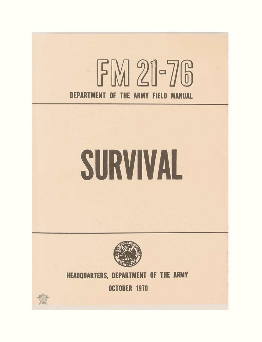 Survival Manual-Tru-Spec
