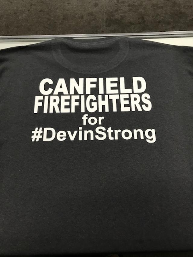 #DevinStrong Canfield FD Fundraiser -Blue Line Ltd.