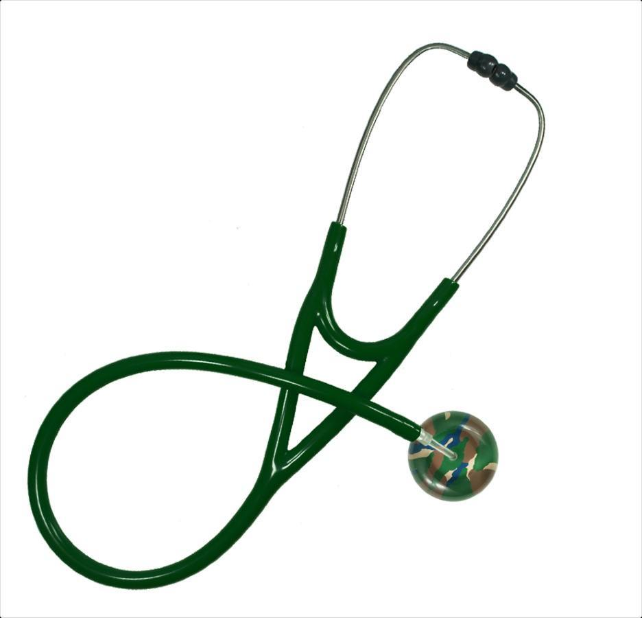 Camouflage Single Stethoscope-UltraScope