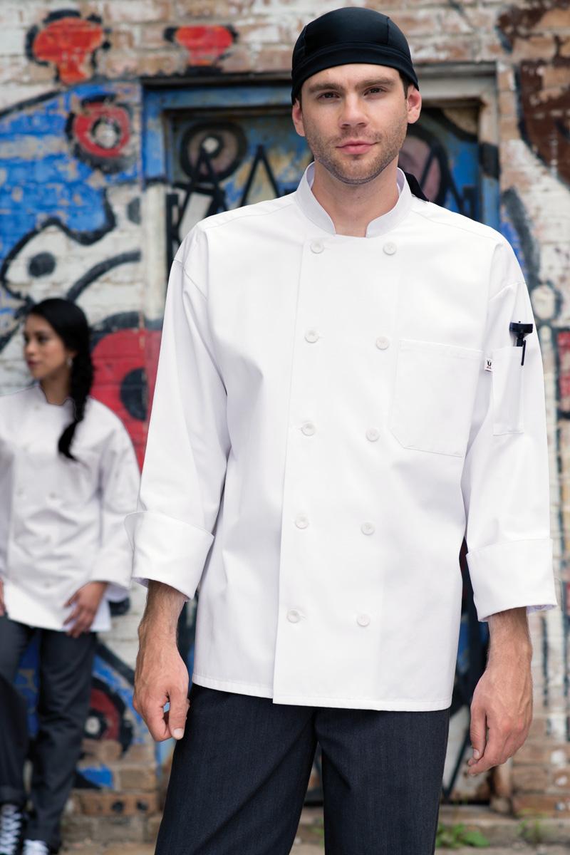 LaPaz Long Sleeve Chef Coat